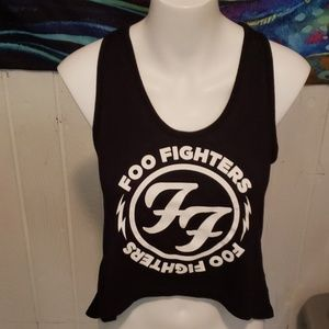 live nation foo fighters tank size s